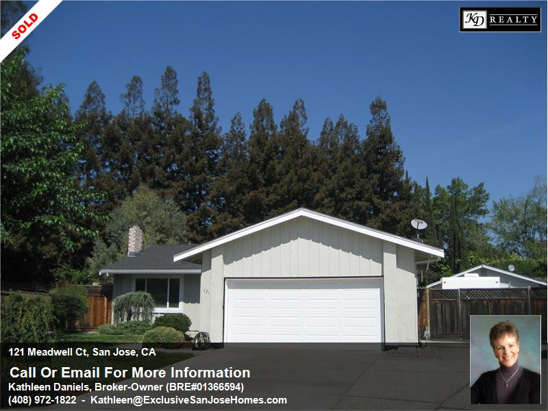 121 Meadwell Ct., San Jose CA 95138