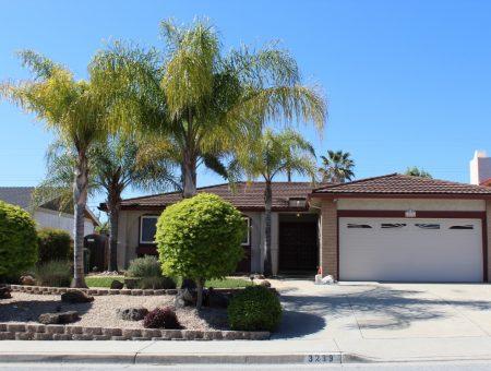 3239 Flintdale Dr. San Jose, CA   Alum Rock 95148 Home For Sale