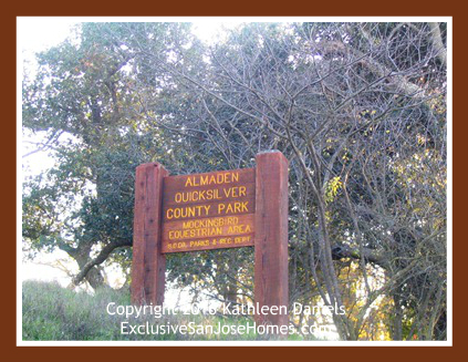 Quicksilver Park in Almaden Valley