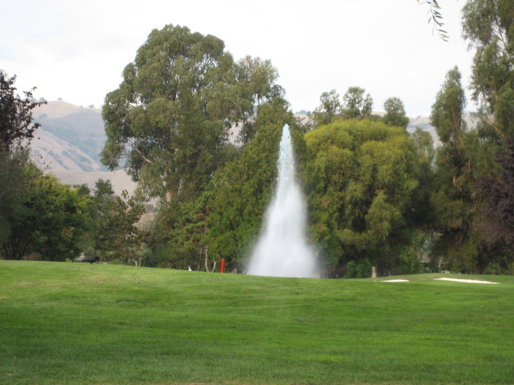 The Villages Golf Course Fountain and Hills
