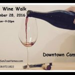 2016 Fall Wine Walk Downtown Campbell