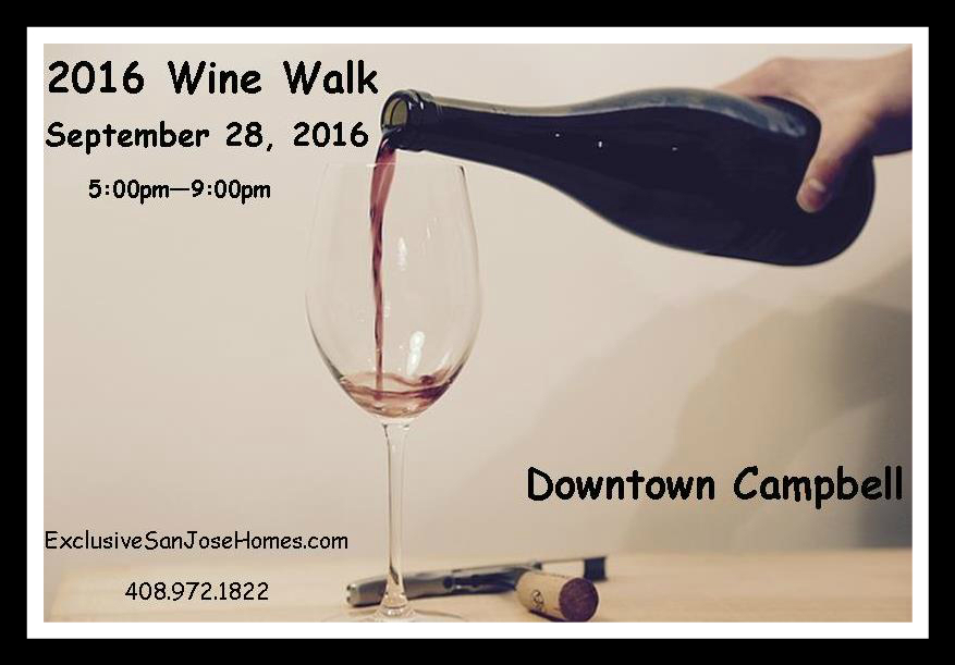 Downtown Campbell Fall Wine Walk